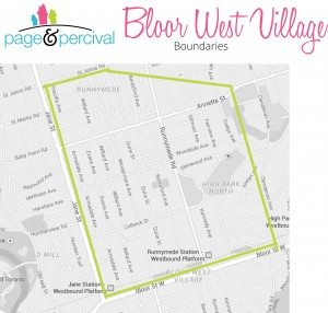 bloor west village map